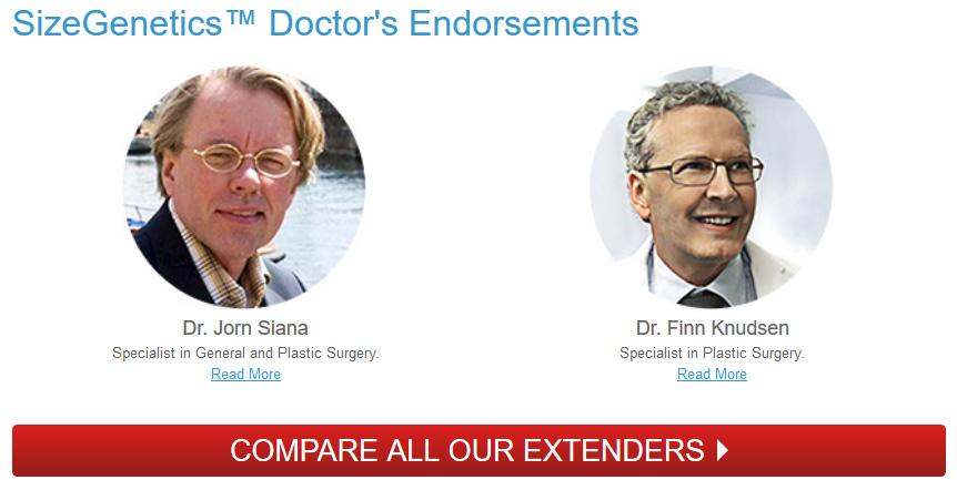 SizeGenetics Doctor Testimonials