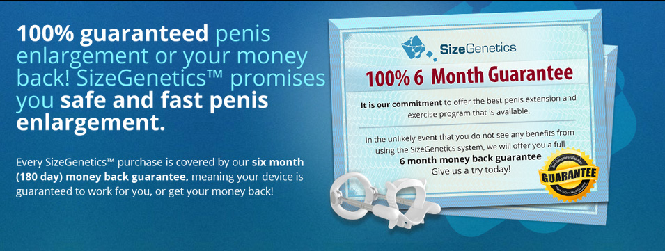 SizeGenetics Guarantee